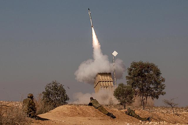 Palestinians Fire 60 Rockets into Israel