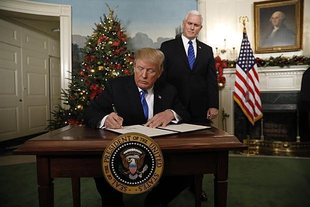 President Trump Recognizes Jerusalem as Israel's Capital