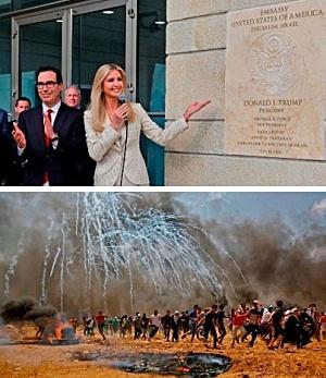 US Embassy Opens in Jerusalem, Sparking Violence