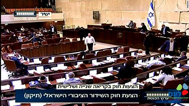 Israeli Knesset Passes Extremely Controversial Law