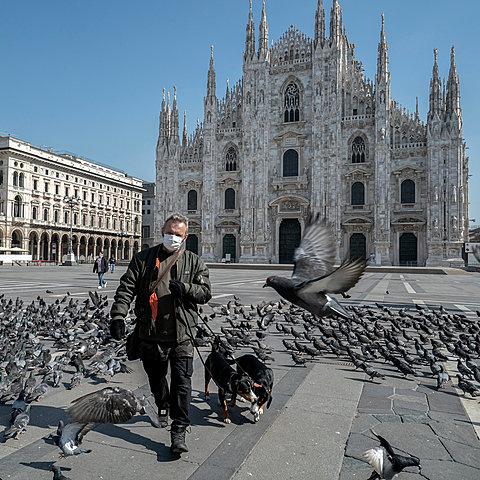 Italy lockdown