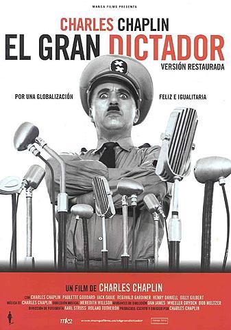 EL GRAN DICTADOR (Charles Chaplin)