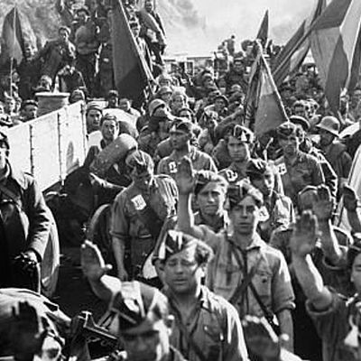 Sublevación militar y Guerra Civil timeline