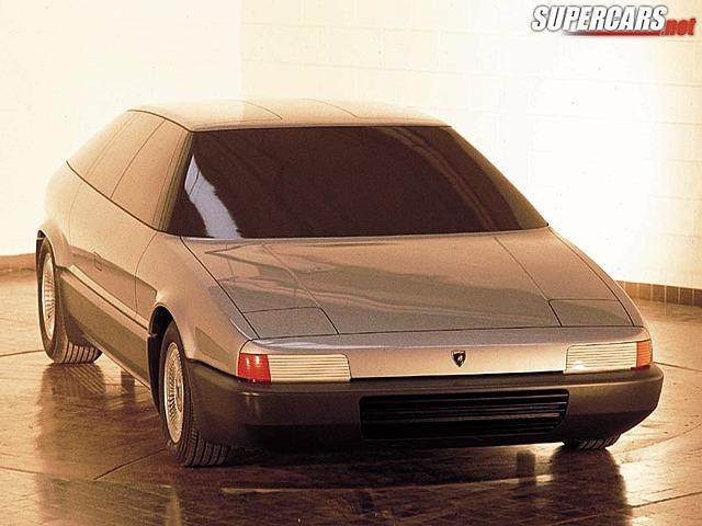 Lamborghini marco polo: shell car