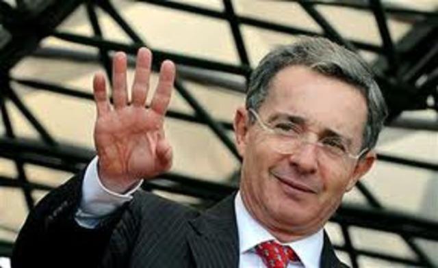 la tercera elección consecutiva de Álvaro Uribe