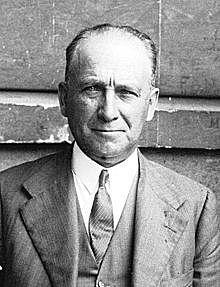 El socialista Francisco Largo Caballero, Presidente del Gobierno de la República.