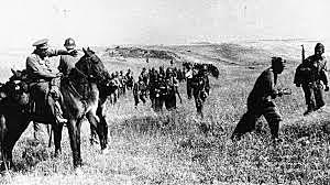 Derrota republicana en la batalla de Brunete.