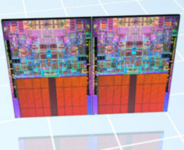 Intel lance le premier Xeon quadri-coeur
