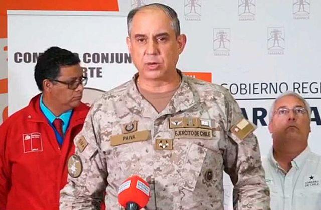 """General chileno ve """"tozudez"""" e """"indolencia"""" en el Gobierno por impedir el ingreso de connacionales"""