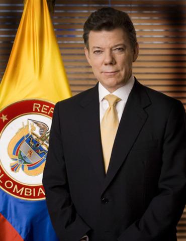 Juan Manuel Santos - Elegido como Presidente de la Republica