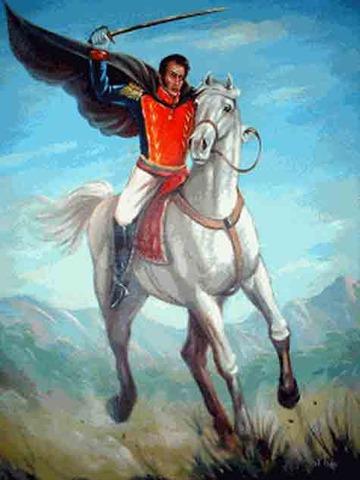 Simón Bolivar Expone el Nuevo Plan Libertador