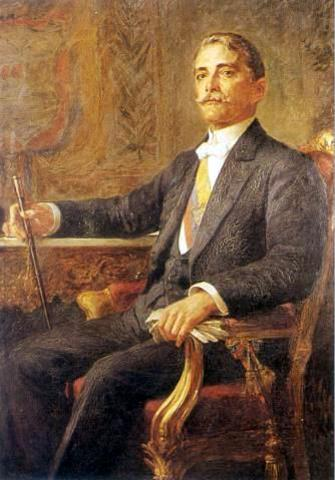 Carlos E. Restrepo Restrepo - Elegido como Presidente