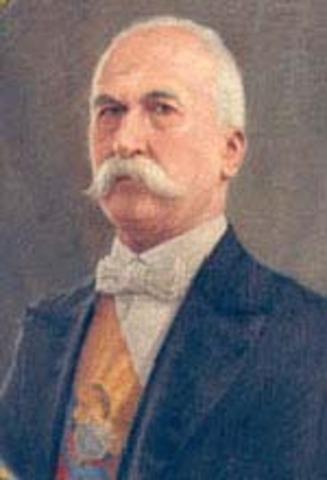 General Pedro Nel Ospina Vásquez - Elegido como Presidente