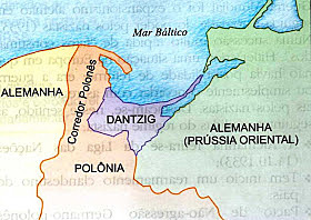 Alemanha anexa Danzig