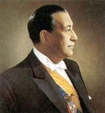 Roberto Urdaneta Arbeláez - Elegido como Presidente