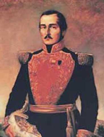 Presidente Electo General Francisco de Paula Santander y Omaña