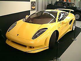 Lamborghini Cala: 4.0L V10 med 395 HP