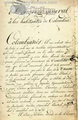 la primera constitucion