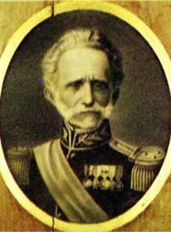 Presidente Electo General Tomás Cipriano de Mosquera y Arboleda