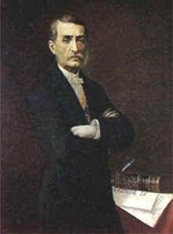 Presidente Electo  Manuel Murillo Toro