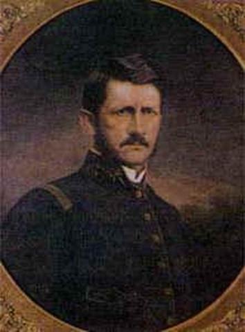 Presidente electo General Santos Acosta Castillo