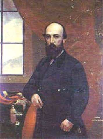Presidente electo General Santos Gutiérrez Prieto