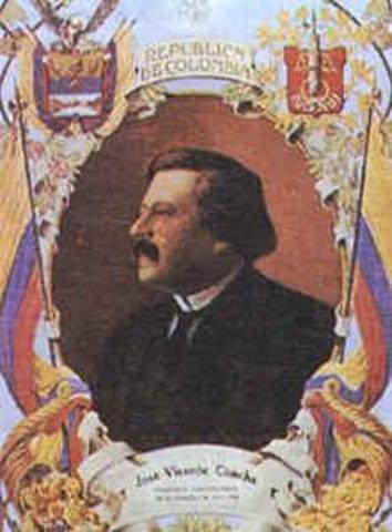 Presidente electoJosé Vicente Concha