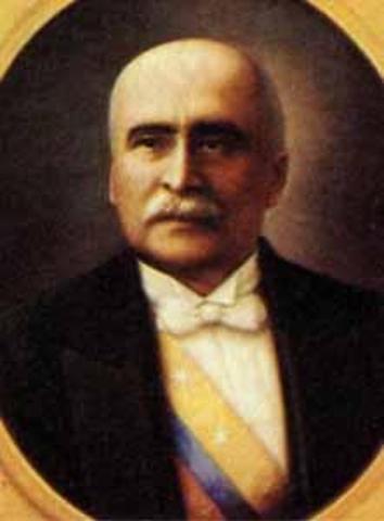Presidente Electo Marco Fidel Suárez