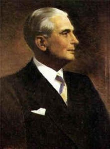 Presidente electo  Mariano Ospina Pérez