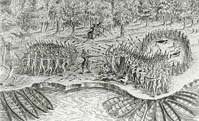 Attack on New France