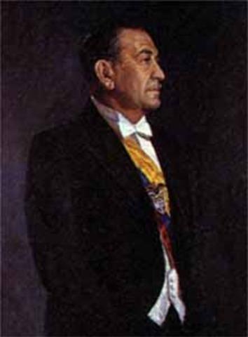 Presidente electo Roberto Urdaneta Arbeláez