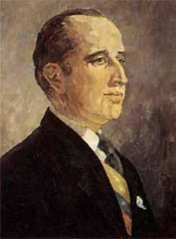Presidente electo Misael Pastrana Borrero
