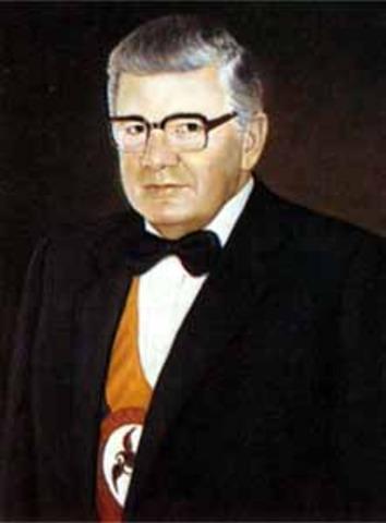 Presidente electo Julio César Turbay Ayala