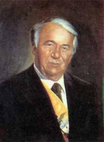 Presidente electo Belisario Betancur Cuartas