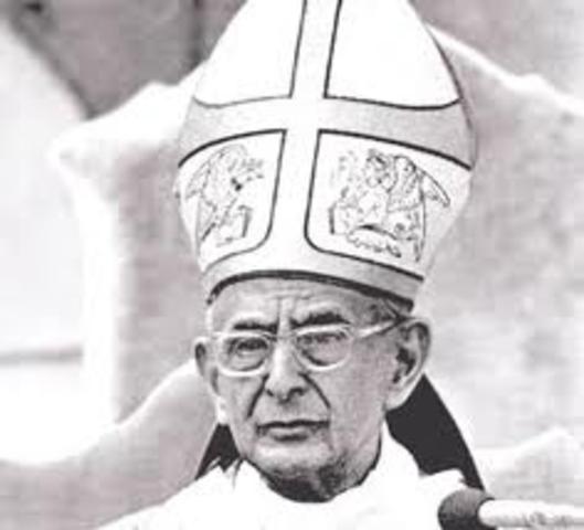Visita Papa Pablo VI