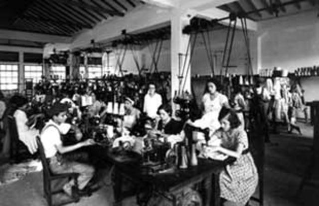 Inicio de la Industria Textil Antioqueña