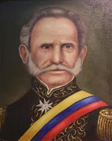 Presidencia de Tomás Cipriano de Mosquer