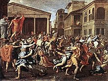Rome: Capture of the Sabine women by the Romans