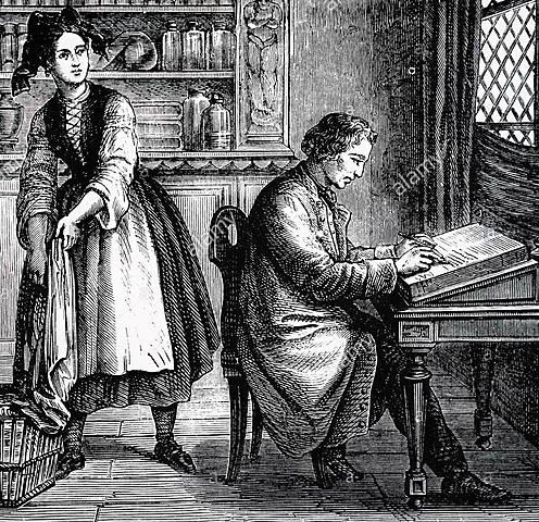 Impresión litográfica.