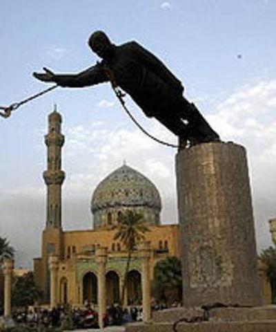 U.S. troops capture Baghdad
