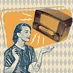 Comienza la publicidad radiofónica.