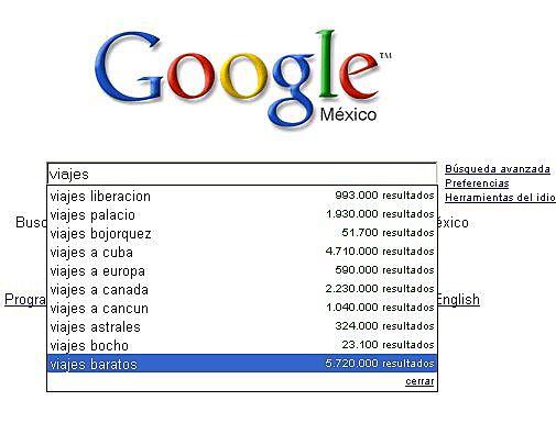 Google inicia las búsquedas personalizadas
