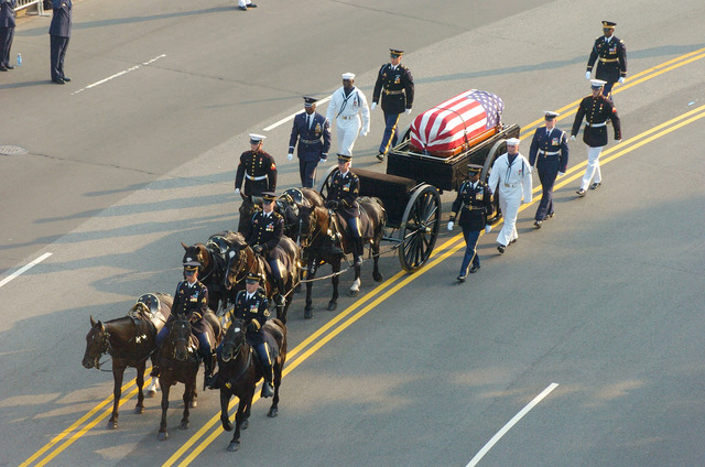 Ronald Reagan's funeral