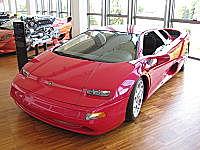 Lamborghini acosta: shell car.