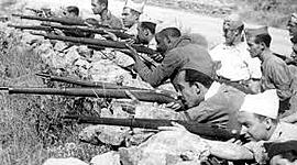 La Guerra Civil Española timeline