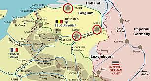Alemanha VS Bélgica, Holanda, Luxemburgo e norte da França