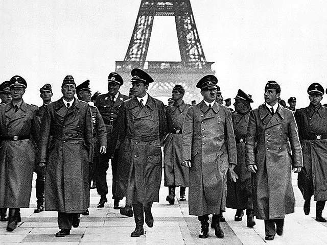 Paris é tomada por alemães