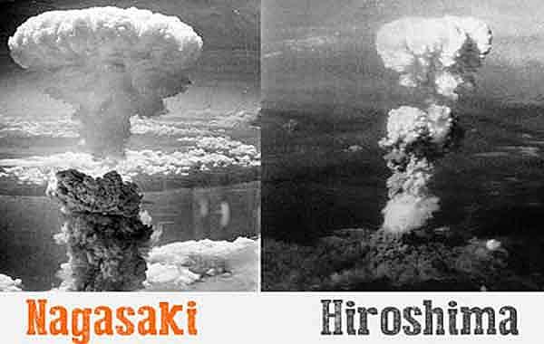 EUA lança bomba em Nagasaki