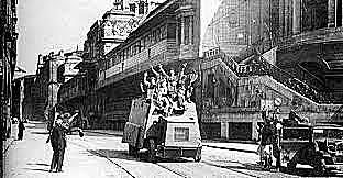 (Junio 1937) Los franquistas conquistan Bilbao y el resto de los territorios vascos que no se hallaban bajo su control.