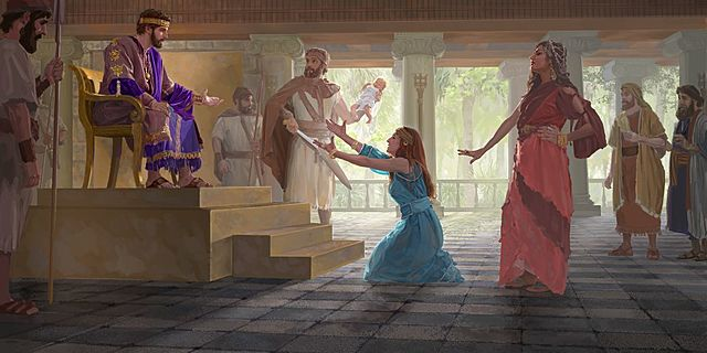 Solomon Receives Wisdom